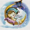 Нежный сон Алмазная вышивка мозаика на подрамнике Белоснежка
