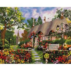 Любимый дом Алмазная вышивка мозаика на подрамнике Белоснежка
