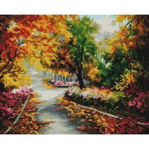 Осенняя мелодия Алмазная вышивка мозаика на подрамнике Белоснежка