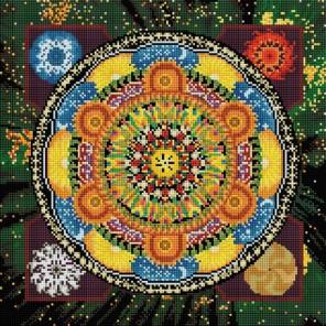 Четыре стихии Алмазная вышивка мозаика на подрамнике Белоснежка