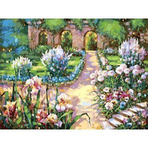 Утро Раскраска картина по номерам акриловыми красками на холсте Белоснежка