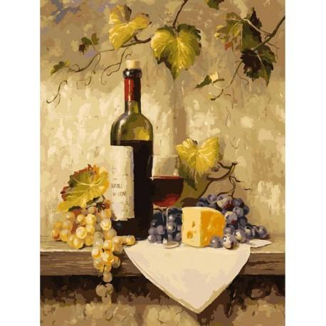 Натюрморт Раскраска картина по номерам акриловыми красками ...