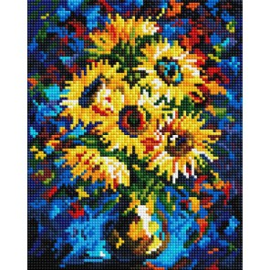 Ночные подсолнухи Алмазная вышивка мозаика Белоснежка