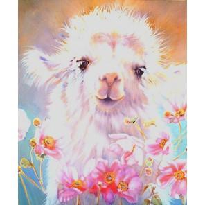 Милый верблюжонок Алмазная частичная вышивка (мозаика) Color Kit