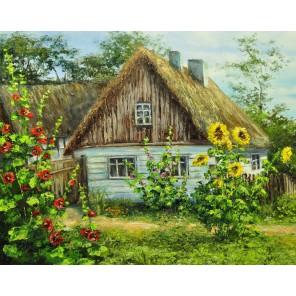 Лето в деревне Алмазная вышивка мозаика Гранни