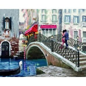 Свидание в Венеции Алмазная вышивка мозаика Гранни