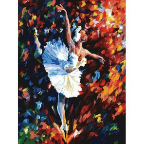 Танец души Раскраска картина по номерам акриловыми красками на картоне Белоснежка