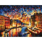 Гранд-Канал Венеция Раскраска картина по номерам акриловыми красками на картоне Белоснежка