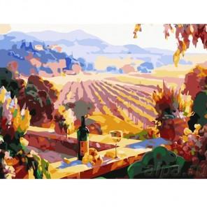Пейзаж Тосканы Раскраска картина по номерам Color Kit