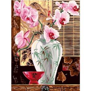 Розовый букет Раскраска картина по номерам акриловыми красками на холсте Molly