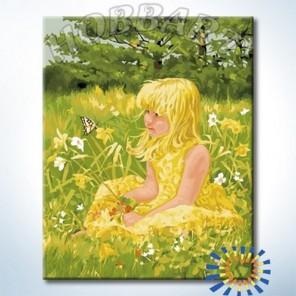На поляне Раскраска картина по номерам на холсте Hobbart