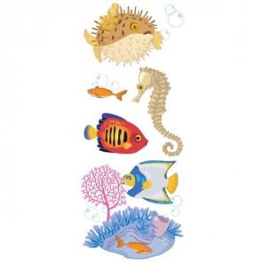 Морские животные 3D Стикеры для скрапбукинга, кардмейкинга Ek Success
