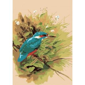 Феникс птицы Раскраска по номерам акриловыми красками на холсте Menglei