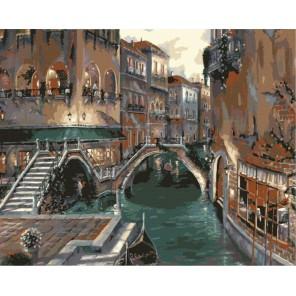 Романтика Италии Раскраска картина по номерам акриловыми красками на холсте Menglei