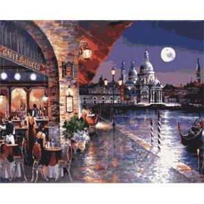 Кафе Барокко Джеймса Ли Раскраска картина по номерам акриловыми красками на холсте Menglei