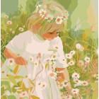 В ромашках Раскраска картина по номерам акриловыми красками Color Kit