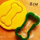 Косточка Форма для вырезания печенья и пряников