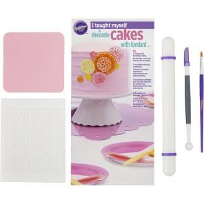 Я научилась сама! Набор инструментов для украшения торта помадкой Wilton ( Вилтон )