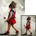 Юная леди Алмазная мозаика вышивка Гранни | Алмазная мозаика купить