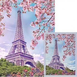 Весна в Париже Алмазная мозаика вышивка Гранни | Алмазная мозаика купить