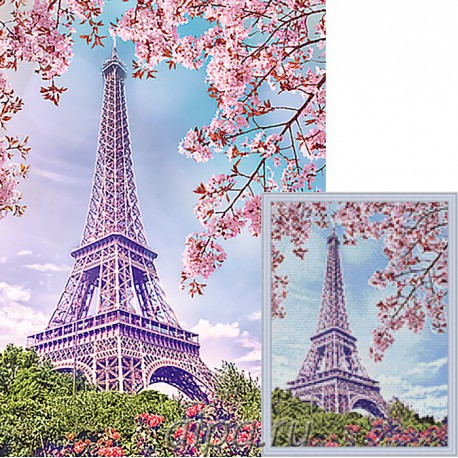 Весна в Париже Алмазная мозаика вышивка Гранни   Алмазная мозаика купить