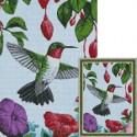 Колибри Алмазная мозаика вышивка Гранни | Алмазная мозаика купить