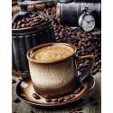 Кофе-брейк Алмазная мозаика вышивка Гранни