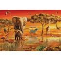 Африка. Травоядные Алмазная мозаика вышивка Гранни