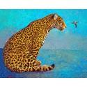 Пятнистый хищник Алмазная мозаика вышивка Гранни | Алмазная мозаика купить