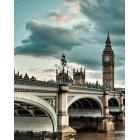 Небо над Лондоном Алмазная мозаика вышивка Гранни