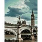 Небо над Лондоном Алмазная мозаика вышивка Гранни | Алмазная мозаика купить