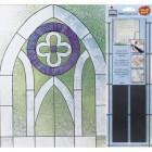 Контурные линии широкие витражные 72 шт Gallery Glass Plaid