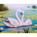 Лебединая песня Алмазная мозаика вышивка Гранни | Алмазная мозаика купить