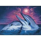 Ночь в море Алмазная мозаика вышивка Гранни | Алмазная вышивка купить