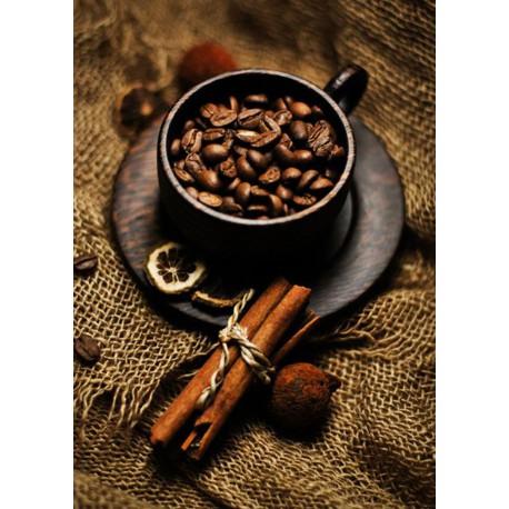 Кофе с корицей Алмазная мозаика вышивка Гранни | Алмазная мозаика купить