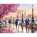 Городской вечер Алмазная мозаика вышивка Гранни | Алмазная мозаика купить