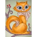 Мудрая кошка Алмазная мозаика вышивка Гранни | Алмазная вышивка купить