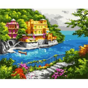 Нарисованный рай (художник Sung Kim) Раскраска картина по номерам акриловыми красками на холсте   Картина по номерам купить