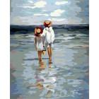 Летние каникулы Раскраска картина по номерам акриловыми красками на холсте | Картина по номерам купить