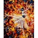 Радужный арабеск Раскраска картина по номерам на холсте