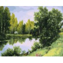 Природа Раскраска картина по номерам акриловыми красками на холсте