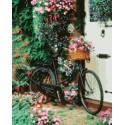 Цветочное утро Раскраска картина по номерам акриловыми красками на холсте | Картина по номерам купить