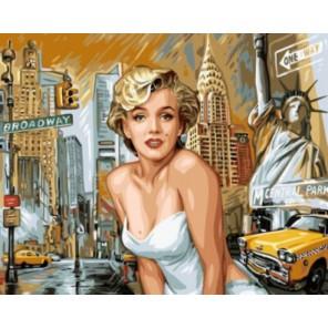 Мэрилин Монро Раскраска картина по номерам акриловыми красками на холсте  Купить с доставкой или самовывозом в интернет магазине