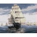 Флотилия Тома Фримана Раскраска картина по номерам на холсте