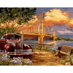 Ретро лето Раскраска картина по номерам акриловыми красками на холсте | Картина по номерам купить