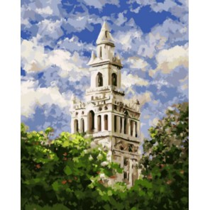 Церковь Вахида Насира Раскраска картина по номерам акриловыми красками на холсте | Картина по цифрам купить