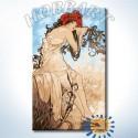 Времена года. Лето (Альфонс Муха) Раскраска картина по номерам на холсте Hobbart