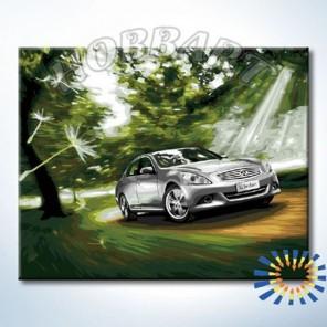 HB4050350 С ветерком Раскраска картина по номерам акриловыми красками на холсте Hobbart