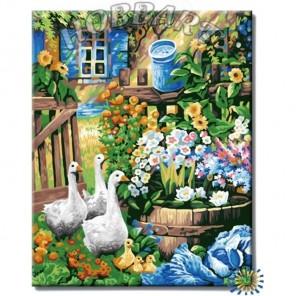 HB4050372 Гуси-Гуси Раскраска картина по номерам акриловыми красками на холсте Hobbart