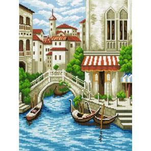 GZ277 Венецианская улочка Алмазная мозаика вышивка на подрамнике Molly